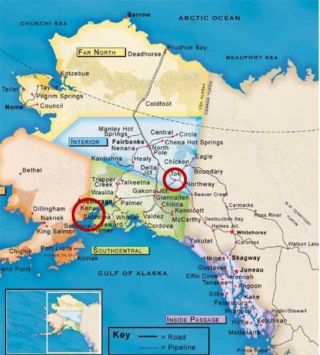 travel-alaska-highway-map-mileage-chart